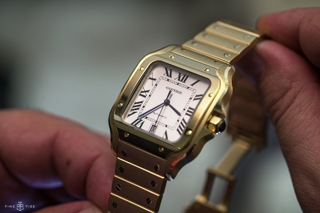 CARTIER SANTOS DE CARTIER IN YELLOW GOLD
