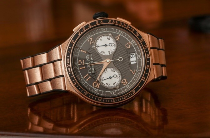 F.P. JOURNE CHRONOGRAPHE MONOPOUSSOIR RATTRAPANTE - best gold watches