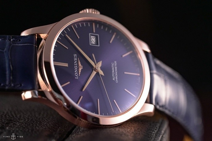 Longines-Record-Rose-Gold-4 best gold watches