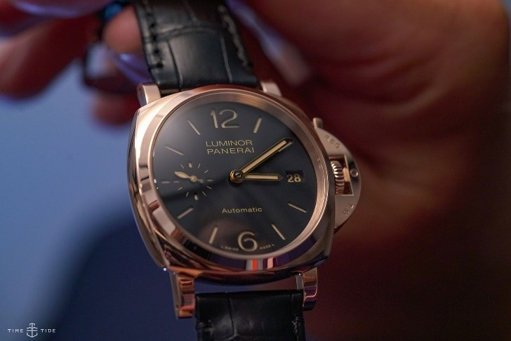 PANERAI LUMINOR DUE 3 DAYS AUTOMATIC ORO ROSSO 38MM