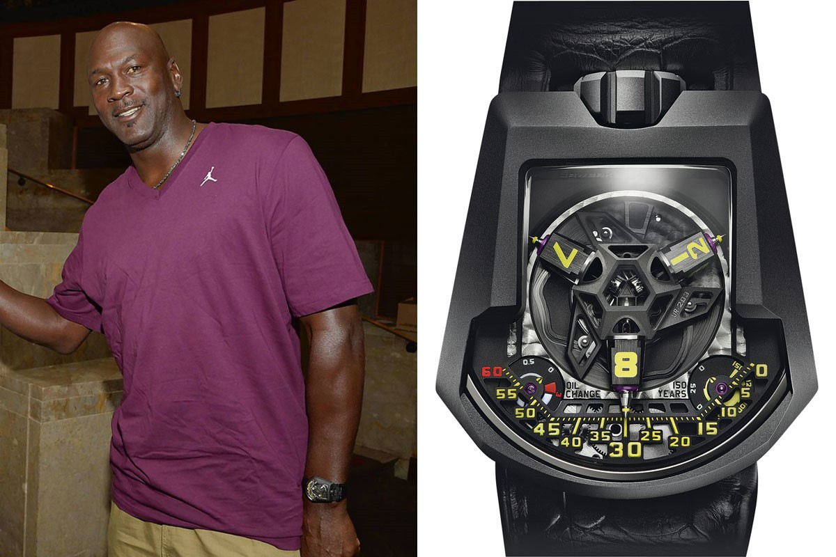 Michael Jordan and his URWERK UR-203
