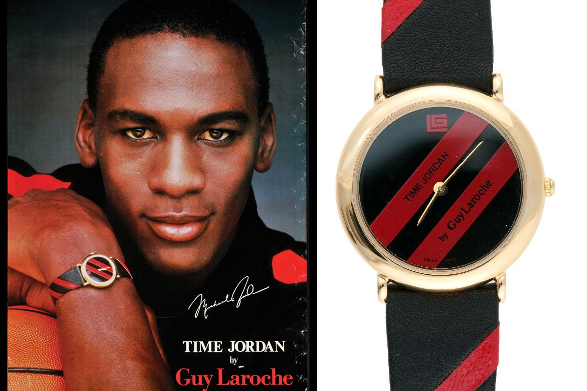 Michael Jordan Guy Laroche Time Jordan