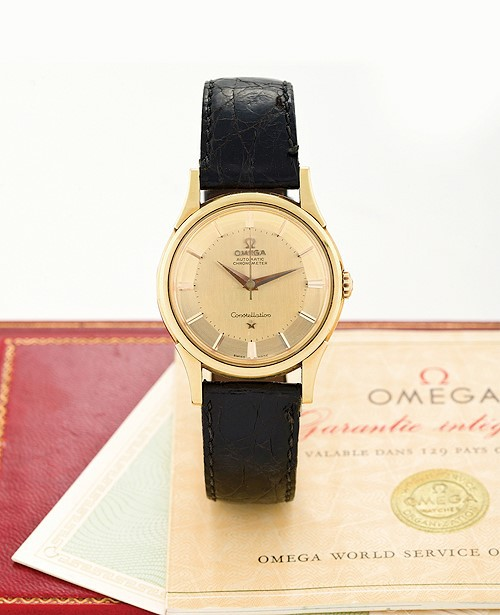Omega Constellation - vintage - pie pan dial